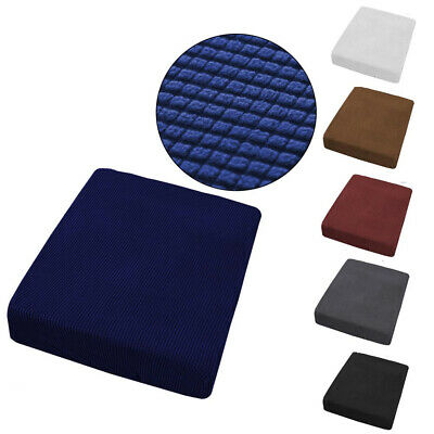 1/2/3/4 Seats Sofa Seat Covers Couch Slipcover Cushion Elastic Bottom Protector • 9.29£
