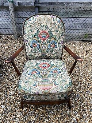 Pair Of Stunning Vintage Mid Century Ercol Windsor  203 Easy Chairs. • 1,000£