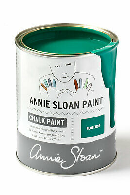 Annie Sloan Paint-1 Large Litre Tin Of Florence - Latest In Colour! • 39£