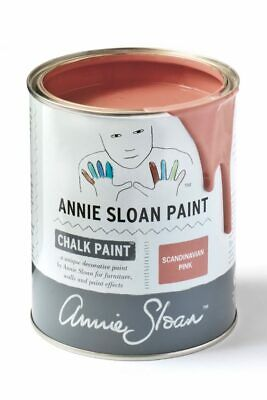 Annie Sloan Paint-1 Large Litre Tin Of Scandinavian Pink - Latest In Colour! • 39£