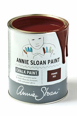 Annie Sloan Paint-1 Large Litre Tin Of Primer Red - Latest In Colour! • 39£