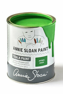 Annie Sloan Paint-1 Large Litre Tin Of Antibes Green - Latest In Colour! • 39£