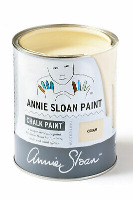 Annie Sloan Paint-1 Large Litre Tin Of Cream - Latest In Colour! • 39£