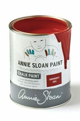 Annie Sloan Paint-1 Large Litre Tin Of Emperors Silk - Latest In Colour! • 39£