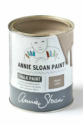 Annie Sloan Paint-1 Large Litre Tin Of French Linen - Latest In Colour! • 39£