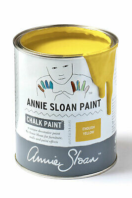 Annie Sloan Paint-1 Large Litre Tin Of English Yellow - Latest In Colour! • 39£
