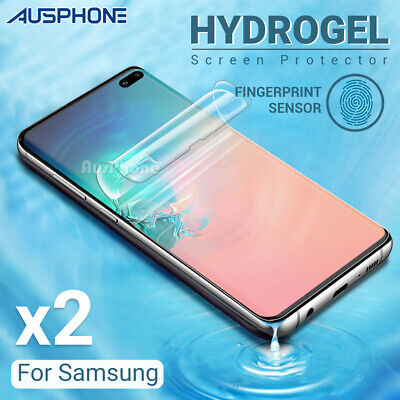 AU4.85 • Buy 2xHydrogel Screen Protector Samsung Galaxy S20 S10 S9 S8 Ultra Plus Note 20 10 9
