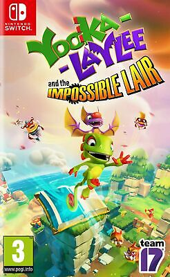 AU33.01 • Buy Yooka-Laylee And The Impossible Lair Nintendo Switch Game