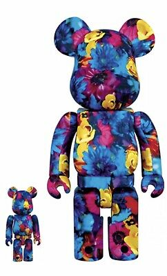 $700 • Buy Medicom Bearbrick 2016 Mika Ninagawa 400%+100% Anemone Be@rbrick Japan Limited