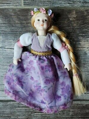 $ CDN7.51 • Buy Porcelain Rapunzel Princess Doll 8