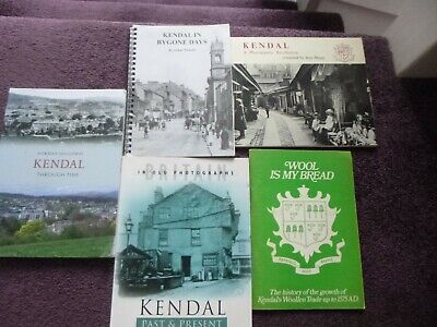 Joblot 5x Kendal Local Interest Books Lake District Westmorland Cumbria  • 24.99£