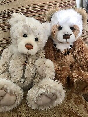 Charlie Bears Hot Cross Bun with Tags Retired Collectible • 69.99£