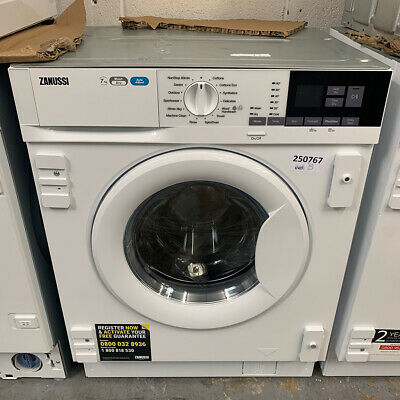 Zanussi Z716WT83BI Integrated 7+4kg 1550 Spin Speed Washer Dryer - A Rated • 439.99£