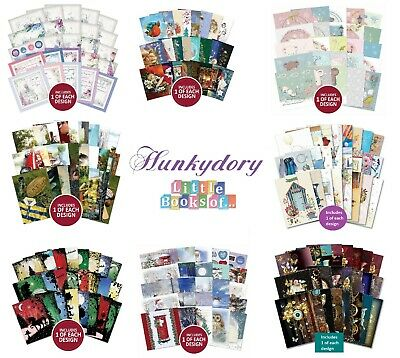 Hunkydory Little Books 24/25/26 Pack - Christmas Birthday Card Making Scrapbook • 2.85£