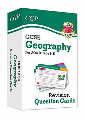 £6.49 • Buy Grade 9-1 GCSE Geography AQA Revision Question Cards: Perfect Fo... By CGP Books