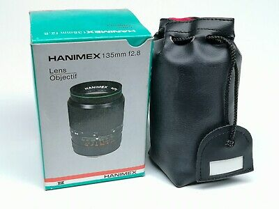 Hanimex 135mm F2.8 Lens PK Mount No Dust Or Fungus In Box • 35£