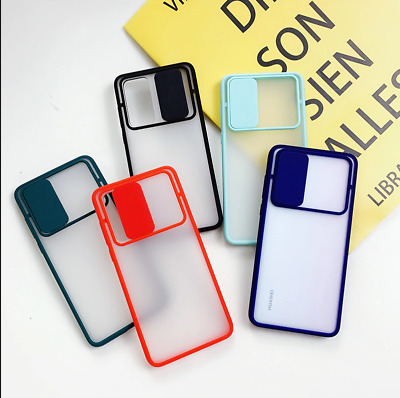 $5.63 • Buy Candy Color Slide Camera Lens Case For Samsung Galaxy A51 A71 A81 A31 Soft Cover