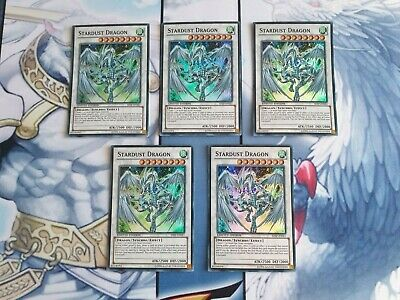 Yugioh 1x Stardust Dragon SHSP-ENSE1 Super Rare Mint Pack Fresh • 2.99£