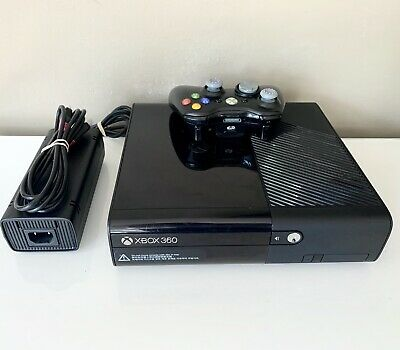 AU139.95 • Buy Xbox 360 E Glossy Black LARGE 250GB Console HDMI With Genuine Controller
