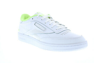 AU67.99 • Buy Reebok Club C 85 FV2139 Mens White Leather Lace Up Lifestyle Sneakers Shoes