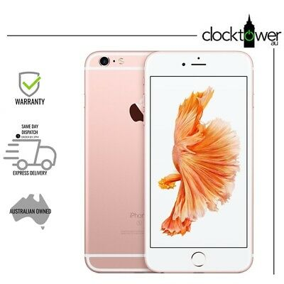 AU279 • Buy Apple IPhone 6S Plus 16GB Rose Gold A1687 Unlocked Great Condition NEW BATTERY