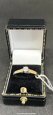 18ct Gold Diamond Ring With Valuation Certificate  • 385£