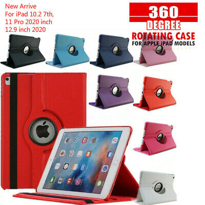 AU10.95 • Buy 360 Rotate Leather Case Cover For Apple IPad 4/3/2 8th 7th 6th Gen Air1 2 Mini 5