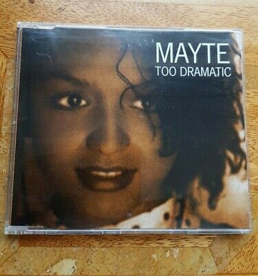 Prince/MAYTE CD Too Dramatic EURO 4 Track EXTENDED Mixes • 11£