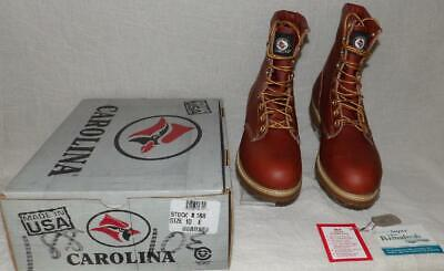 $54.99 • Buy Men's Vintage Carolina #188 Made Usa Work Hunting Leather 8  Boots New Old Stock