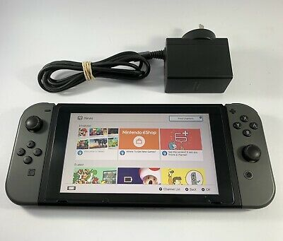 AU399.95 • Buy Nintendo SWITCH CONSOLE Grey Joy-Con Joy Con - Excellent Condition PAL
