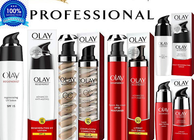 Olay Regenerist Advanced Anti-Ageing 3Point Serum Regenerating UV SPF Lotion*NEW • 10.80£