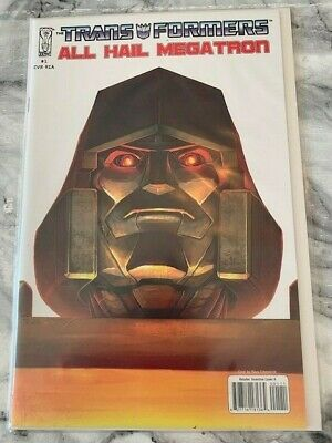 £29.99 • Buy Transformers All Hail Megatron 1 Retail Incentive Cover A 1st Print Rare HOT!