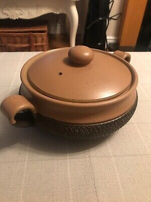 Denby Cotswold Large Casserole Dish / Lidded Serving Tureen Unused • 12£