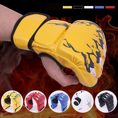 $ CDN13.35 • Buy MMA Boxing Gloves Grappling Punching Bag Training Kickboxing Fight Sparring