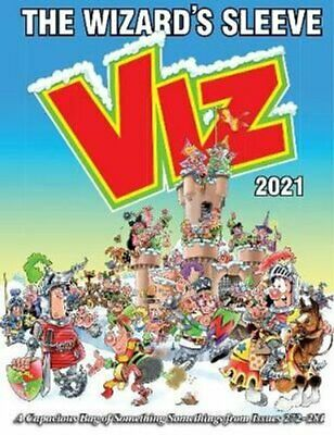 Viz Annual 2021: The Wizard's Sleeve A Rousing Blast From The P... 9781781067277 • 10.90£