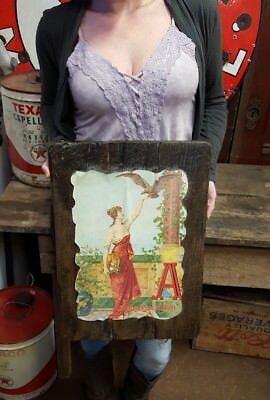 $ CDN79.08 • Buy Budweiser Beer Sign Vintage Bar Signs 1 Girl Tacker Anheuser-Busch Brewery