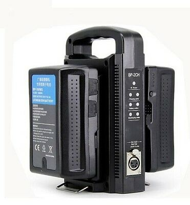 AU149.99 • Buy Universal  Dual Quick Battery Charger For SONY V-Mount Battery Pack BP-95W Hot