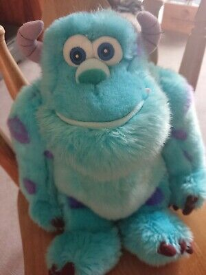Disney Store Sully Monsters Inc Soft Plush Toy • 6£