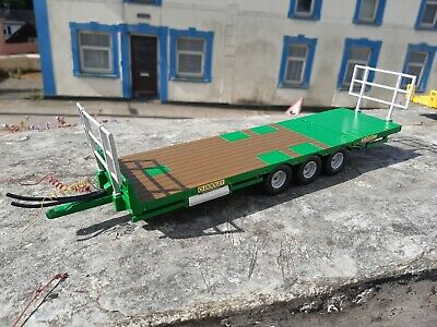 Britains Conversion Dooley Bale  Trailer  Green For Tractor Siku  • 40£