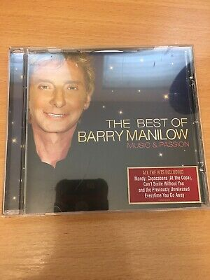 Barry Manilow - The Best Of - Music And Passion Cd • 2.99£