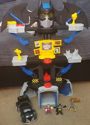 IMAGINEXT - DC SUPER FRIENDS - BATMAN Vs. JOKER - FIGURES, BAT-CAVE & VEHICLE. • 24.50£