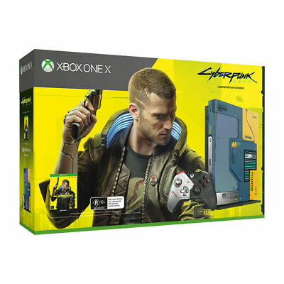 AU699 • Buy Xbox One X 1TB Cyberpunk 2077 Limited Edition Console NEW