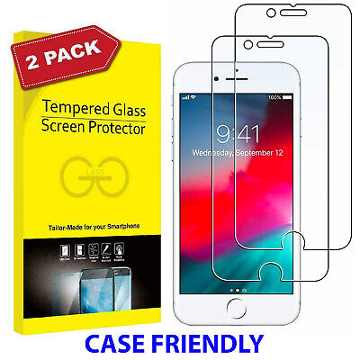 2 X For IPhone 5C,6S,SE,7PLUS,8PLUS SHOCKPROOF GORILLA TEMPERED GLASS PROTECTOR • 2.45£