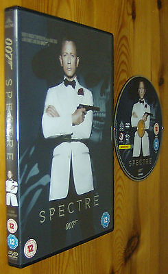 Spectre 007 Original Mgm Brand New Dvd James Bond Craig Daniel • 4.99£