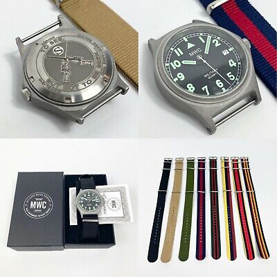 £145 • Buy Personalised G10 MWC Military Watch 100M Engraved Wristwatch Any Logo Any Text