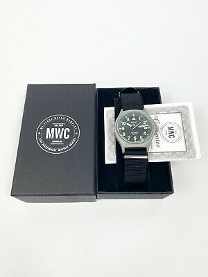 £150 • Buy Engraved G10 MWC Military Watch 100M Bespoke Personalised Wristwatch Any Text