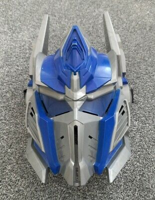 £6.50 • Buy  TRANSFORMERS Age Of Extinction OPTIMUS PRIME Battle Play Mask Blue Silver