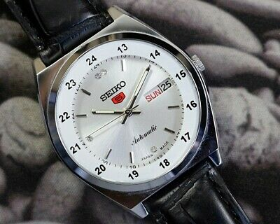 $ CDN36.32 • Buy Seiko 5 Automatic Men's Japan Movement Refurbished Used Old Vintage Watch -51808