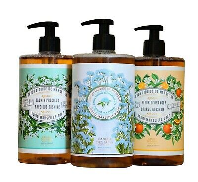 Savon De Marseille Liquid Soaps Various Fragrances And Bars • 6£