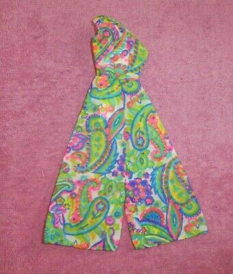 $ CDN20.43 • Buy Vintage Barbie Clothes - Vintage Barbie 1692 Patio Party Jumpsuit
